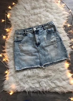 🔥sale🔥шыкарная стильная джинсовая юбка 🖤miss selfridge🖤