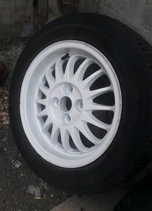 Ronal r15 4×100 et37 dia 60.1 Комплект дисков с резиной