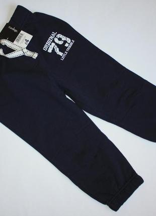 Спортивные штаны р2-3года george с начесом