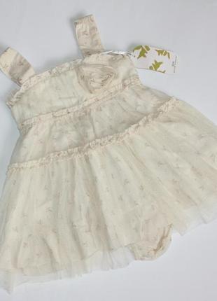 Набор платье и трусики под памперс
