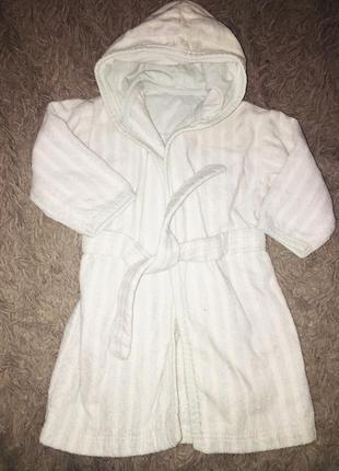 Фирменный халатик на малыша