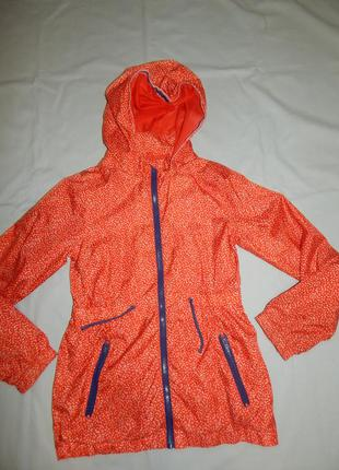 Куртка ветровка модная на девочку 11-12 лет 146-152 см