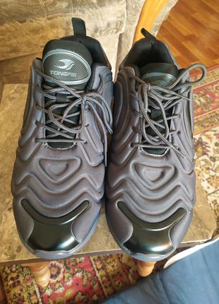 кроссовки Nike Air Max 720 ,цвет серо-черный.