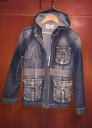 Куртка джинсовая женская 46-48р.