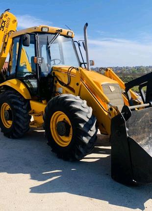 Послуги оренда екскаватора навантажувача JCB 4cx трактор бульдозе