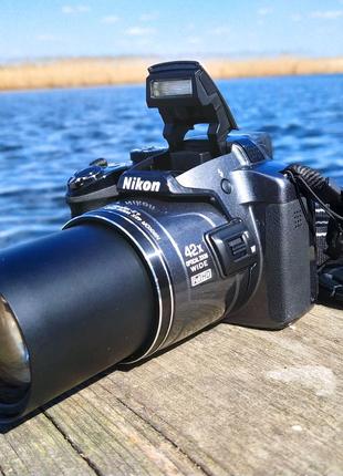 Nikon P510+Сумка+SD Карта,как Новый