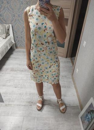Стильное летнее платье миди