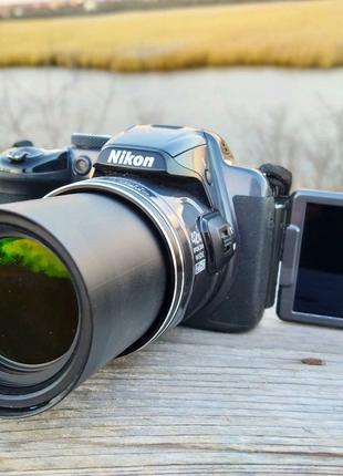 Nikon P520+Чехол+Зарядка,карат памяти!