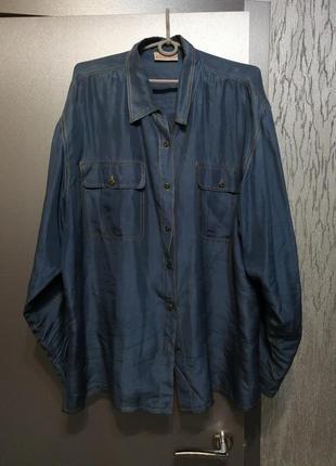 Шелковая рубашка в идеальном состоянии