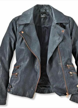Куртка косуха кожаная куртка кожанка под покраску tcm tchibo