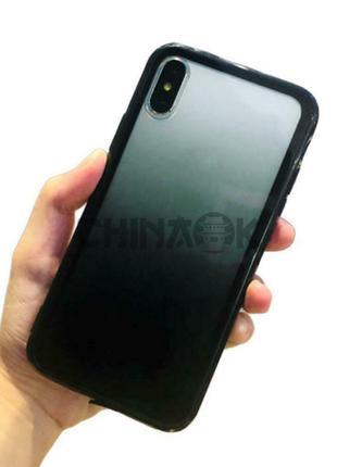 Градиентный чехол для iPhone X/XS
