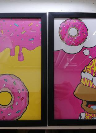 Постеры The Simpsons Симпсоны