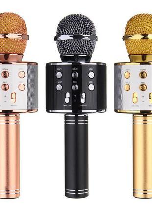 Универсальный беспроводной микрофон, радиомикрофон, WS-858 Blu...