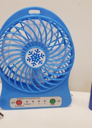 Портативный настольный вентилятор Portable Fan Mini F
