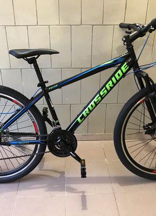 "Новый горный велосипед CROSSRIDE(Ardis) 26 MTB ""FAITH"" 15 рама"