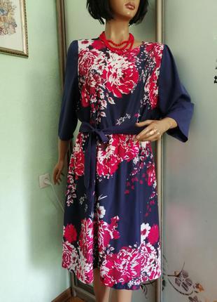 Легкое платье большого размера