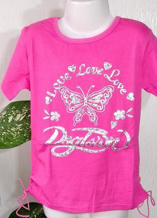Супер качество! футболка на девочку