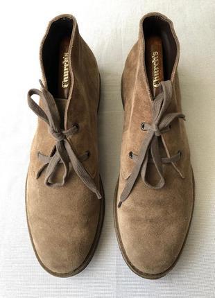 Ботинки bottega veneta (италия),оригинал,замша+кожа