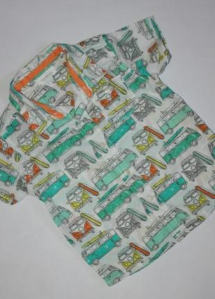 Стильная рубашка р6-9мес next