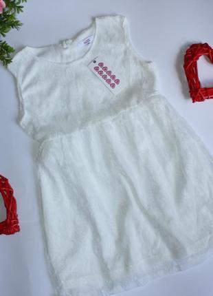 Нежное платье сарафан  р5-6лет sugar squad