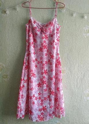 Новое летнее лёгкое шифоновое платье сарафан