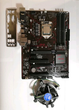 Intel core i5-7500+ASUS Prime B250-Plus+кулер intel