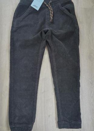 Модные вельветовые брюки джогеры