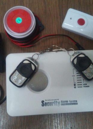 GSM Сигнализация Б.У
