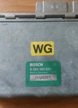 Блок управления ABS Opel Omega A Senator B Vectra A0265103034 WG