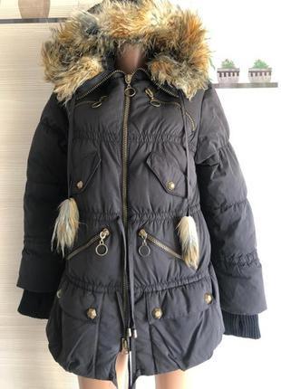 Куртка парка с капюшоном diade