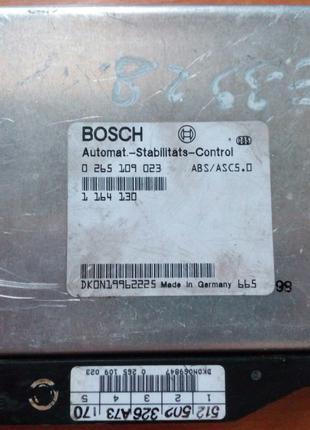 Блок управления ABS ASC BMW 7 5 E38 E39 0265109023 1164130