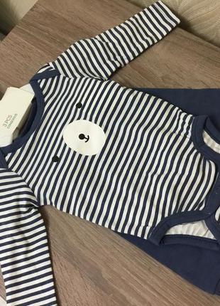 Комплект одежды h&m для новорожденного 1-2 м ( 56см)