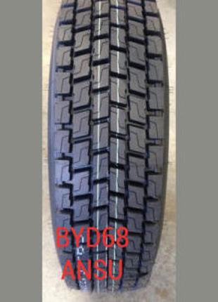 Грузовые шины 315/80R22.5 ANSU BYD68 (ведущая) 157/154K с доставк