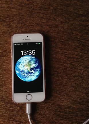 iPhone SE 64gb gold newerlock