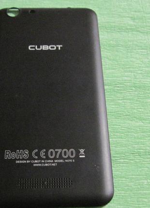 Задняя крышка Cubot Note S б/у, оригинал