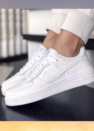 Найк аир форс форсы женские nike air force кроссовки