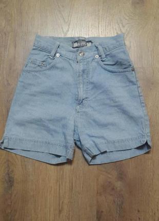 Классные джинсовые шорты с высокой талией. tello. размер m ( 3...