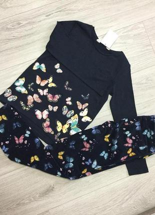 Одежда для девочки 122-128-134 h&m