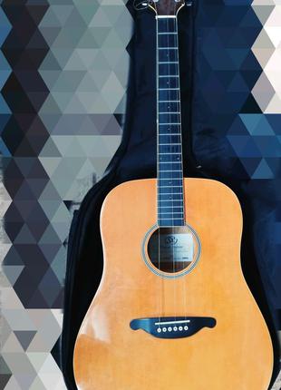 Гитара аккустическая Фирма SX модель dg26vna
