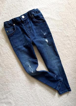 Модные джинсы river island на 5 лет, оригинальный дизайн
