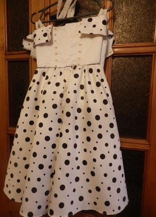 Платье на девочку 6-10 лет