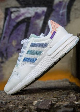Кроссовки мужские adidas zx 500 white