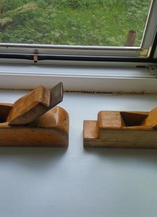 Два ручных, деревянных рубанка.(СССР)