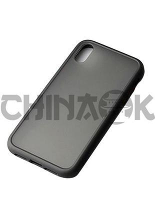 Чехол бампер черный для Iphone X/XS