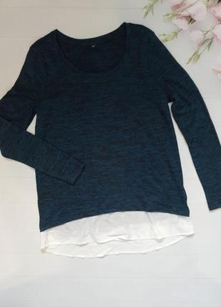 Кофта джемпер пуловер обманка