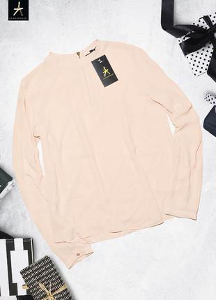 Нежная персиковая рубашка блуза atmosphere