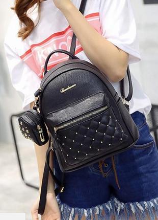 Женский городской рюкзак bailimen с кошельком в наборе, 3 цвета