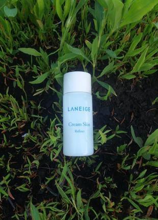 Тонер-крем laneige cream skin refiner 15 мл