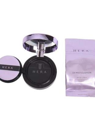 Кушон люкс  hera uv mist cushion ultra moisture spf34/pa++ 15g...