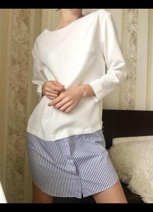 Новое белое платье белая рубашка